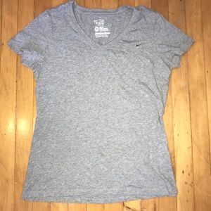 Nike V-neck Slim Fit Tee Shirt